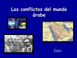 Los conflictos del mundo árabe