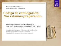 Elena Escolano Rodríguez - Biblioteca Nacional de España