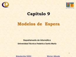Modelos de Espera