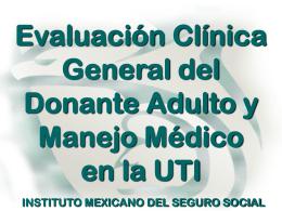 Diapositiva 1 - Centro Nacional de Trasplantes