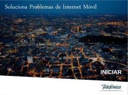 Herramienta para solucionar problemas de Internet Móvil.