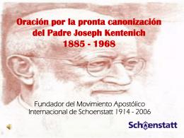 Oración por la pronta canonización del Padre Joseph Kentenich
