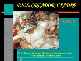 Dios Creador y Padre - Grupo Educativo Coas