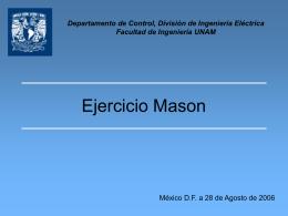 Clase05Mason - departamento de procesamiento de señales
