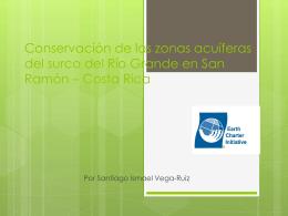 Conservación de las zonas acuíferas del surco del Río Grande en