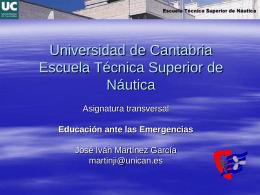 Lección tercera - Universidad de Cantabria