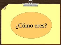 ¿Cómo eres? - Español para inmigrantes y refugiados