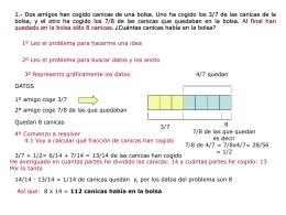 problemas-de-fracciones ¿un poquito difíciles?