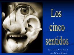 Los cinco sentidos - CienciasnaturaleEM1