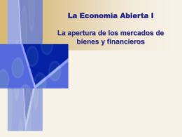 10. La Economía Abierta I