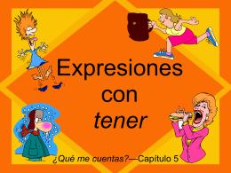tener idioms - Scots Spanish 1
