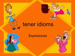 tener idioms - Auburn City Schools