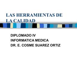 HERRAMIENTAS DE LA CALIDAD