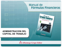 Administración Capital Trabajo (presentación Power Point)