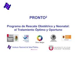 Programa de Rescate Obstétrico y Neonatal
