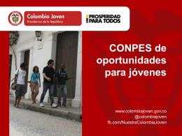 Colombia Joven: CONPES de Juventud