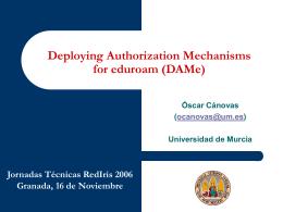 Objetivos del proyecto DAMe