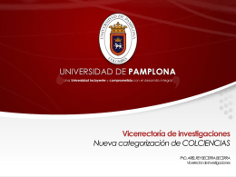Institucional - Universidad de Pamplona