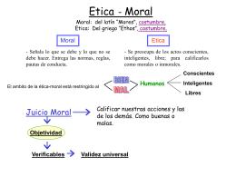 Etica - Moral - Instituto Linares