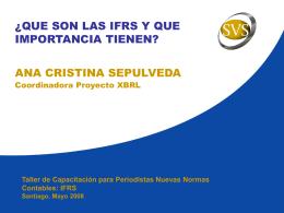 ¿Qúe son las IFRS y que importancia tienen?