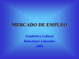 MERCADO DE EMPLEO