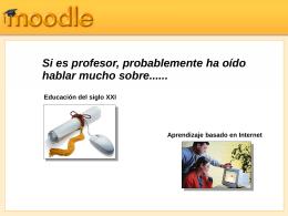 Gestión del curso - Moodle.org