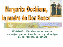 Margarita Occhiena, la madre de don Bosco_Ppt