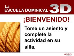 La Escuela Dominical 3D - Líderes Generales
