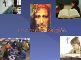 La clase de Religión - Vicaría para la Educación