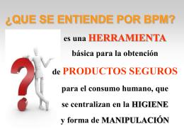 charla introductoria buenas practicas de manufactura -bpm