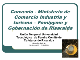 buenas practicas agrícolas - Universidad Tecnológica de Pereira