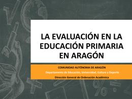 Evaluación de educación primaria