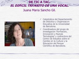 De TIC a TAC, el difícil tránsito de una vocal