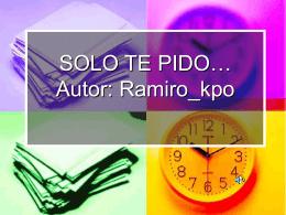 Un poema de RAMIRO_KPO