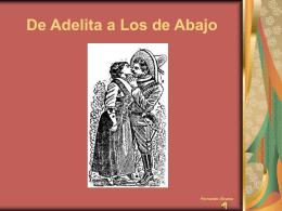 De Adelita a Los de Abajo