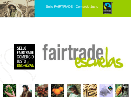 Sello Fairtrade : El Sello de Comercio Justo