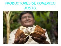 Comercio Justo - Conectando mundos