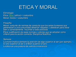 presentación del problema ético