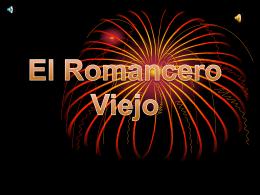 El Romancero viejo - To