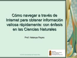 Cómo navegar en Internet para obtener información valiosa