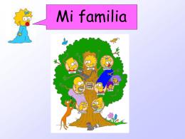 U1E3 Mi Familia Los Simpsons