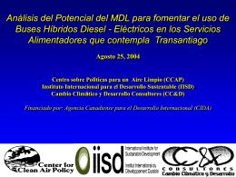 Cuánto puede aportar el MDL para financiar este cambio tecnológico?