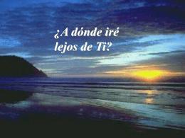 Salmo 139 (138) - Asociación Unidos por la vida