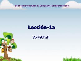 Empezando a estudiar el Qur`an