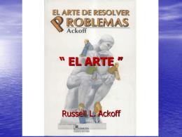 """"""" EL ARTE DE RESOLVER PROBLEMAS """""""