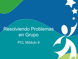 Solving Problems in Groups
