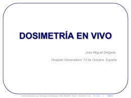 Dosimetria in vivo