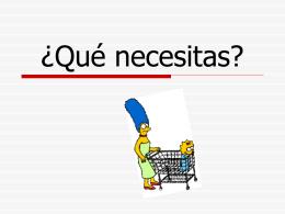 Qué necesitas para la clase de español?