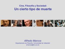Cine, filosofía, sociedad - Universidad de Valladolid