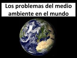 Los problemas del medio ambiente en España